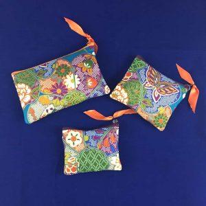 Pochettes Nature Bleu&Orange